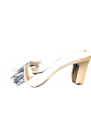 Dior \N Patent leather Mules & Clogs for Women