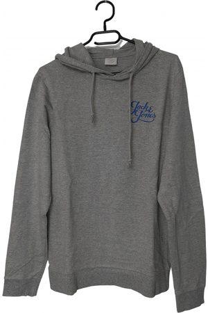 JACK & JONES Men Sweatshirts - Grey Cotton Knitwear & Sweatshirt