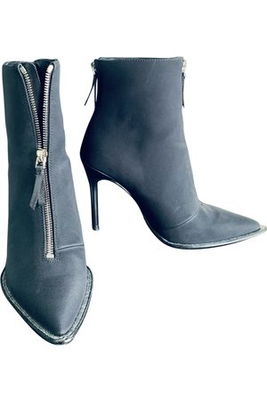 Alexander Wang Women Ankle Boots - \N Cloth Ankle boots for Women