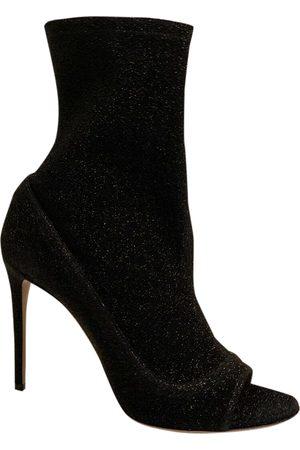Aquazzura Women Ankle Boots - \N Glitter Ankle boots for Women
