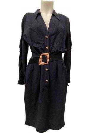 Thierry Mugler VINTAGE \N Linen Dress for Women