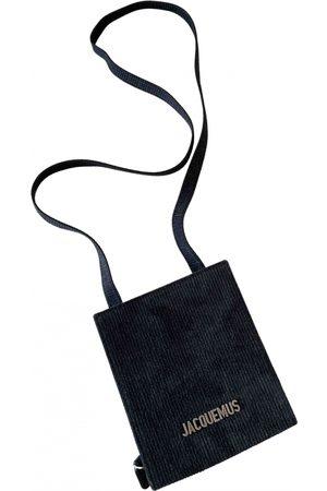 Jacquemus Men Wallets - Le Gadjo Velvet Small Bag, Wallet & cases for Men
