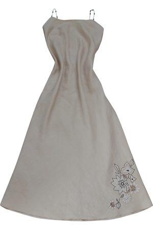 Naf-naf \N Linen Dress for Women