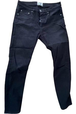 Acne Studios \N Cotton - elasthane Jeans for Men