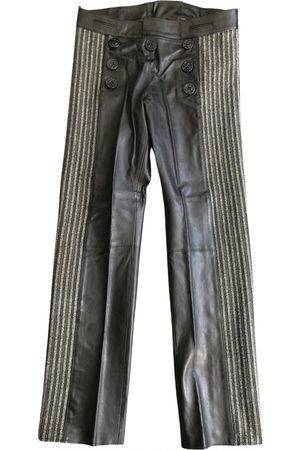 Jean Paul Gaultier \N Leather Trousers for Men