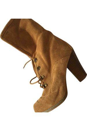 Les Tropéziennes par M Belarbi Pony-style calfskin snow boots