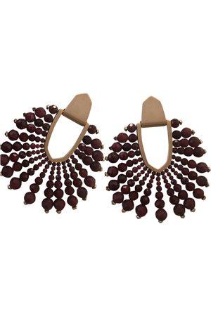Kendra Scott Burgundy Earrings