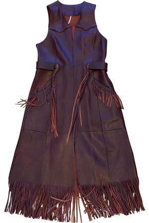 Free People \N Leather Leather Jacket for Women