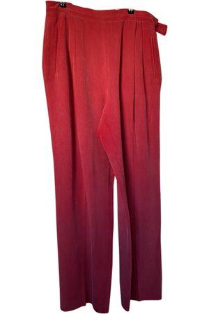 Cerruti 1881 Women Pants - VINTAGE \N Silk Trousers for Women