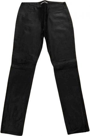 Kookai Leather straight pants