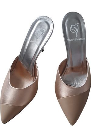 Pierre Hardy Women Mules - \N Leather Mules & Clogs for Women