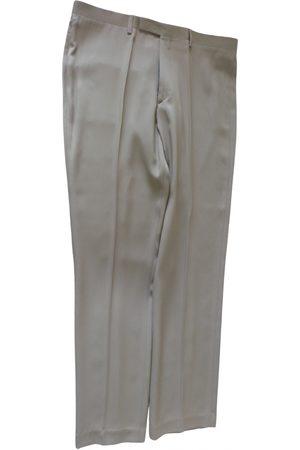 Jean Paul Gaultier Men Pants - VINTAGE \N Silk Trousers for Men