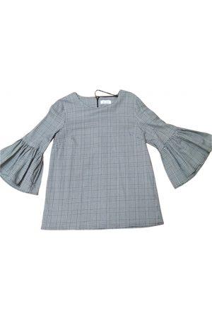Calvin Klein Grey Cotton Top