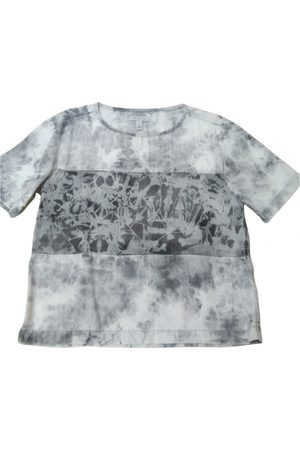 Calvin Klein Women Tops - Grey Cotton Top