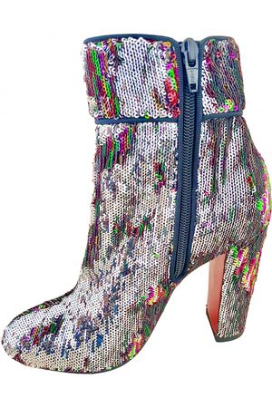 Christian Louboutin \N Glitter Ankle boots for Women