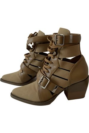 Chloé Rylee Leather Ankle boots for Women