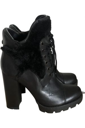 Guess \N Leather Ankle boots for Women