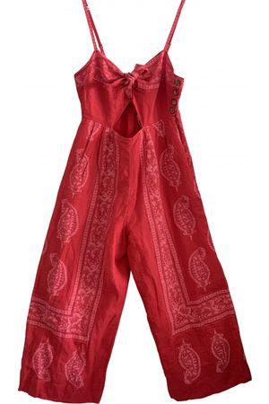Free People \N Linen Jumpsuit for Women