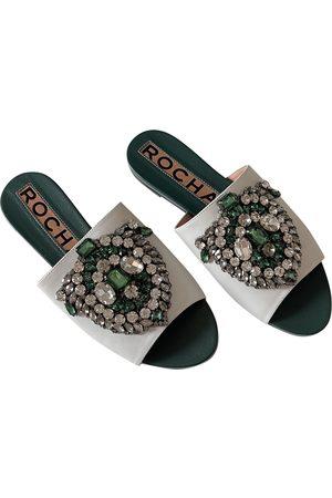 Rochas \N Glitter Sandals for Women