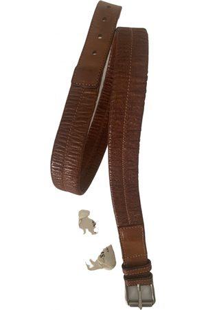 Stone Island \N Leather Belt for Men