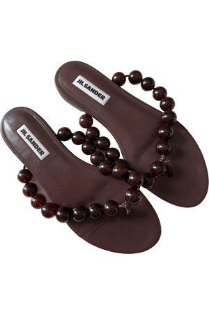 Jil Sander \N Leather Sandals for Women
