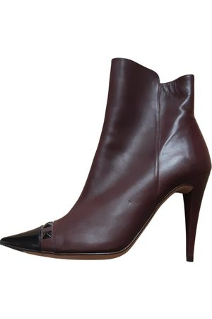 Pura Lopez \N Leather Ankle boots for Women