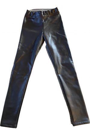 Calzedonia Women Leather Pants - \N Leather Trousers for Women