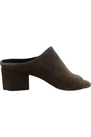 3.1 Phillip Lim Women Mules - \N Suede Mules & Clogs for Women