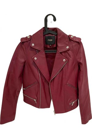 Maje \N Leather Jacket for Women
