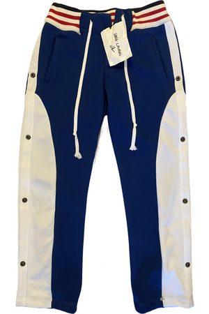 GREG LAUREN Men Pants - \N Cotton Trousers for Men