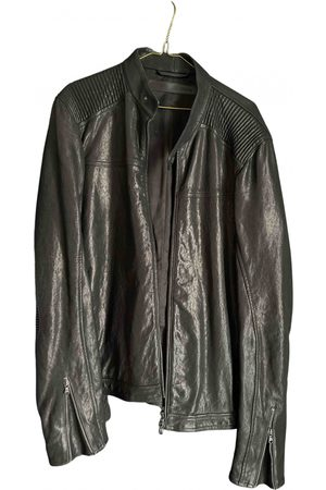 DROME \N Leather Jacket for Men