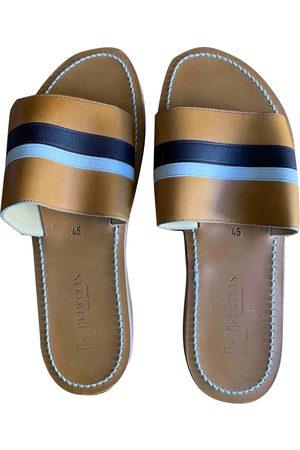 K jacques \N Leather Sandals for Men