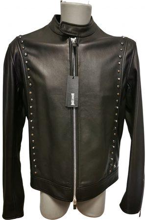 Roberto Cavalli Men Leather Jackets - \N Leather Jacket for Men