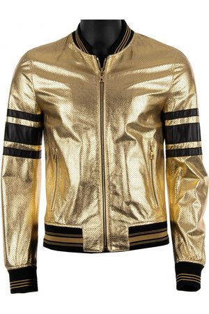 Dolce & Gabbana Men Leather Jackets - \N Leather Jacket for Men