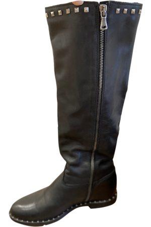 Verra Pelle Women Boots - \N Leather Boots for Women