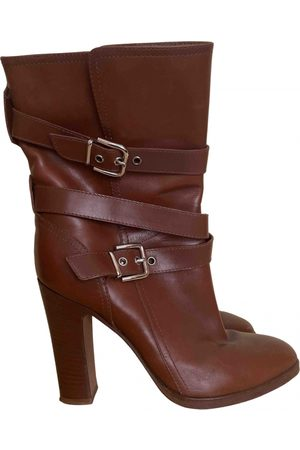 Gianvito Rossi Women Ankle Boots - \N Leather Ankle boots for Women