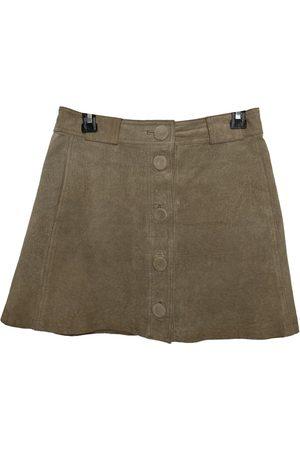 Claudie Pierlot \N Suede Skirt for Women