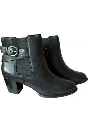 UTERQUE \N Leather Ankle boots for Women