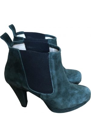 Ganni \N Suede Ankle boots for Women