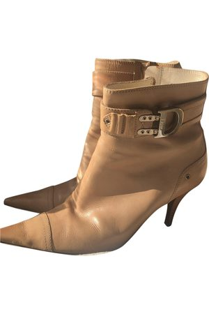 Dior Women Ankle Boots - \N Leather Ankle boots for Women