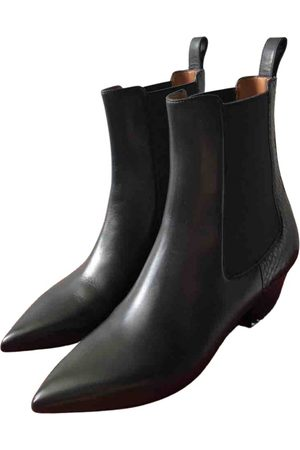 VALENTINO GARAVANI Women Ankle Boots - \N Leather Ankle boots for Women