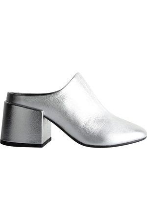 Maison Martin Margiela Women Mules - \N Leather Mules & Clogs for Women