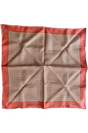 Salvatore Ferragamo \N Silk Scarf & pocket squares for Men