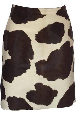Max Mara Women Leather Skirts - \N Leather Skirt for Women