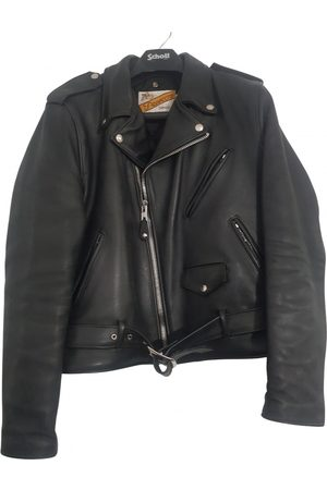 Schott NYC \N Leather Jacket for Men