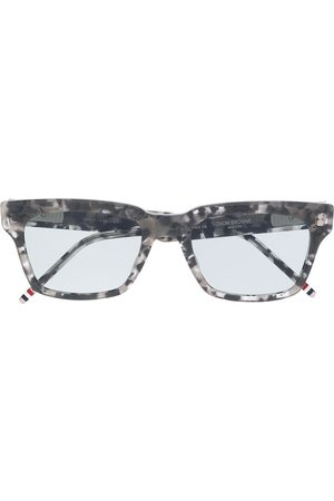 Thom Browne TBS418 GREY TORTOISE 04 UVA AND UVB SOLAR FILTERS/Acetate