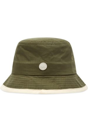 Folk Contrast Rib Bucket Hat