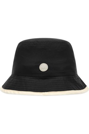 Folk Men Hats - Contrast Rib Bucket Hat