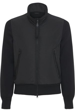Tom Ford Wool & Nylon Blouson Jacket