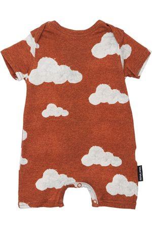 Snurk Cloud Print Organic Cotton Romper